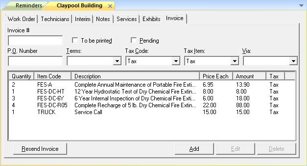 Send Invoice to QuickBooks